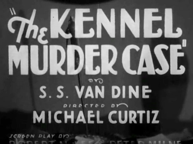 Kennel Murder Case