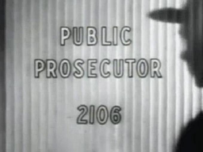 Public Prosecutor – Case of the Comic Strip Murder