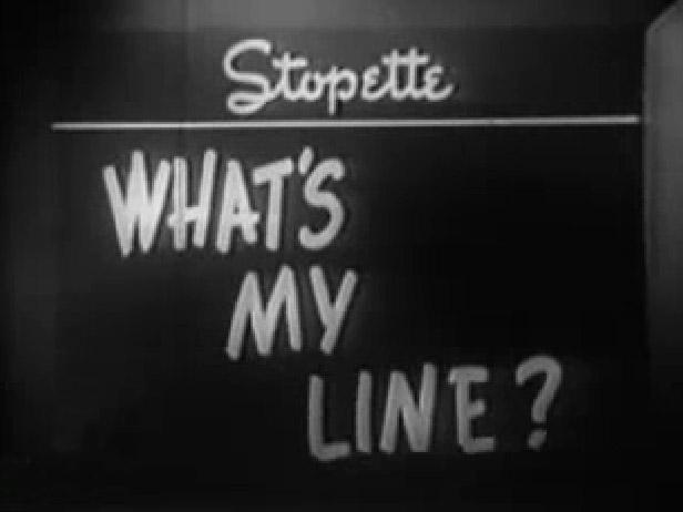 What's My Line – Guest Star Bette Davis