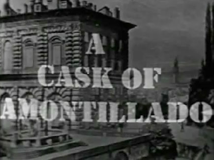 Suspense – A Cask Of Amontillado