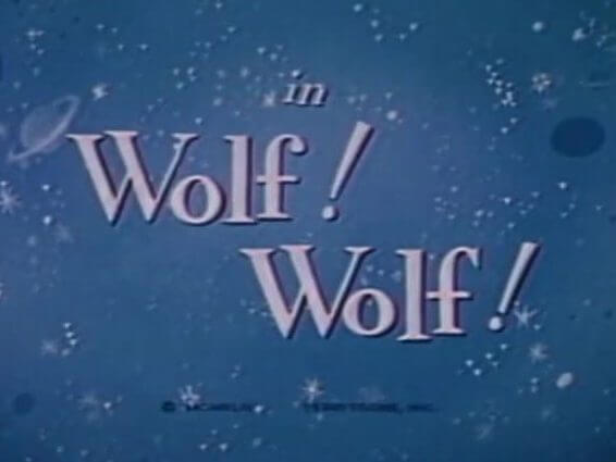 Mighty Mouse: Wolf! Wolf! - 1944