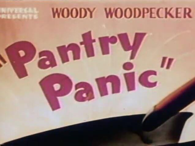 Woody the Woodpecker – Pantry Panic