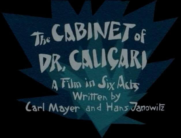 "Hypnotist Dr. Caligari uses a somnambulist, Cesare, to commit murders. This is a classic and a first in it's genre. Many movies since have used the ""Genius… title="