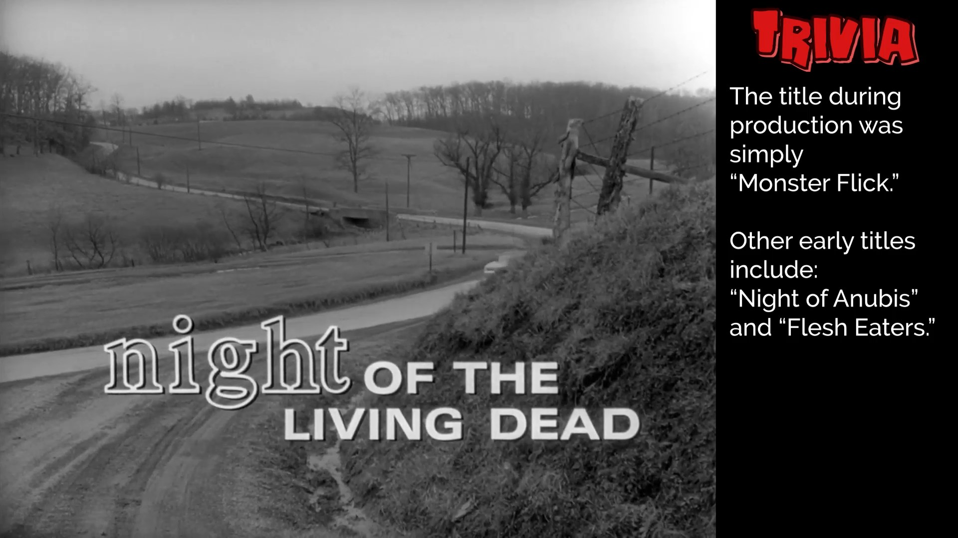 Night of the Living Dead – Factoid Edition – Beta HD Version